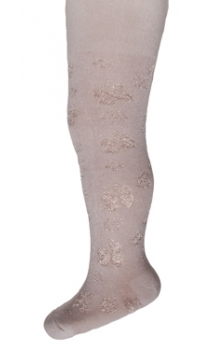 Children's jacquard cotton/viscose tights ___________________ Mod.02 art. B1211 siz.56-86cm