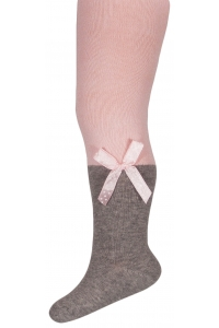 Children's cotton tights with application
